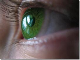 krāsainās kontaktlēcas