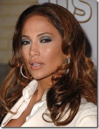 Jennifer Lopez make-up