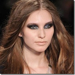 smoky eyes make-up