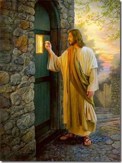 Jēzus klauvē pie tavām durvīm