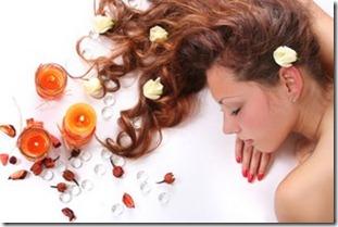 aromātiskā matu ķemmēšana
