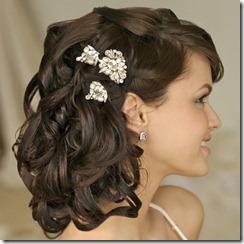 līgavas frizura