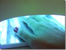 šellaka manikīra procedūra