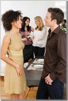 sieviete un virietis sarunajas