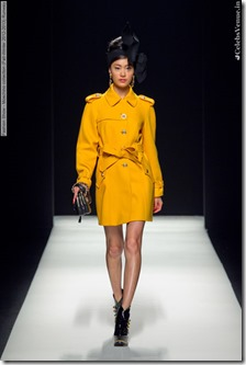 Fashion Show - Moschino collection (Fall-Winter 2012-2013) Runway