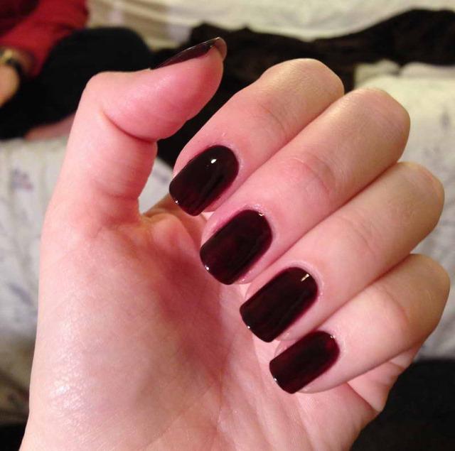 Black Nail Polish Colors: Modernais Rudens-ziemas 2013/2014 Sezonas Manikīrs
