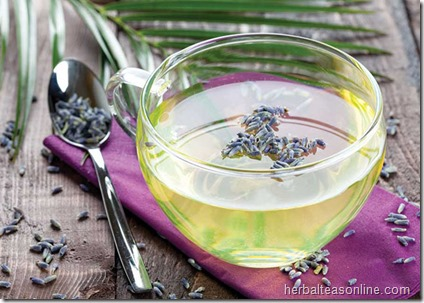 Hot toddies are traditionally made with whiskey, rum or brandy. Th is nonalcoholic recipe combines calming lavender with soothing honey and lemon.